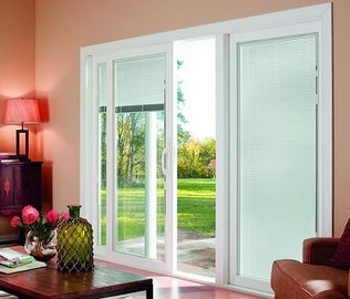 ประเทศจีน Internal Blinds Inside Glass Sound / Heat Insulating Energy Saving ผู้ผลิต